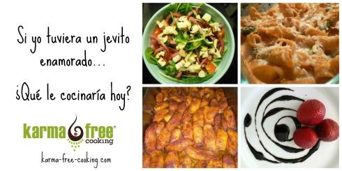 Cena Vegetariana de Enamorados