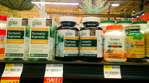 Suplementos de Cúrcuma en Whole Foods